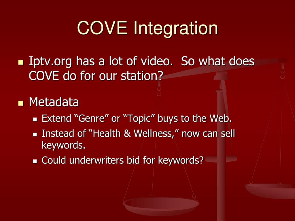 COVE Integration