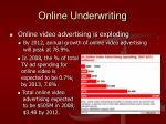 online underwriting