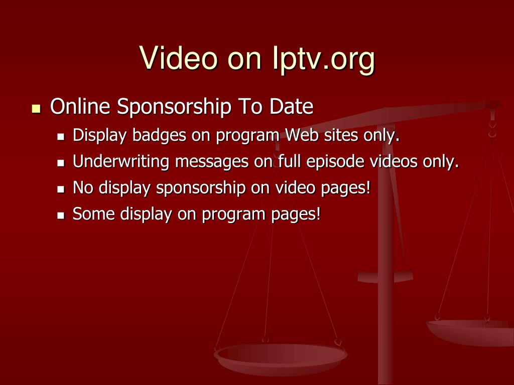 Video on Iptv.org