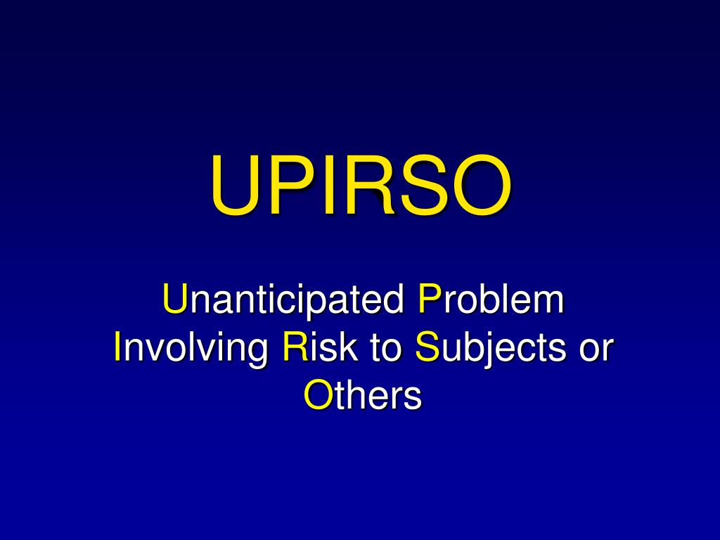 UPIRSO