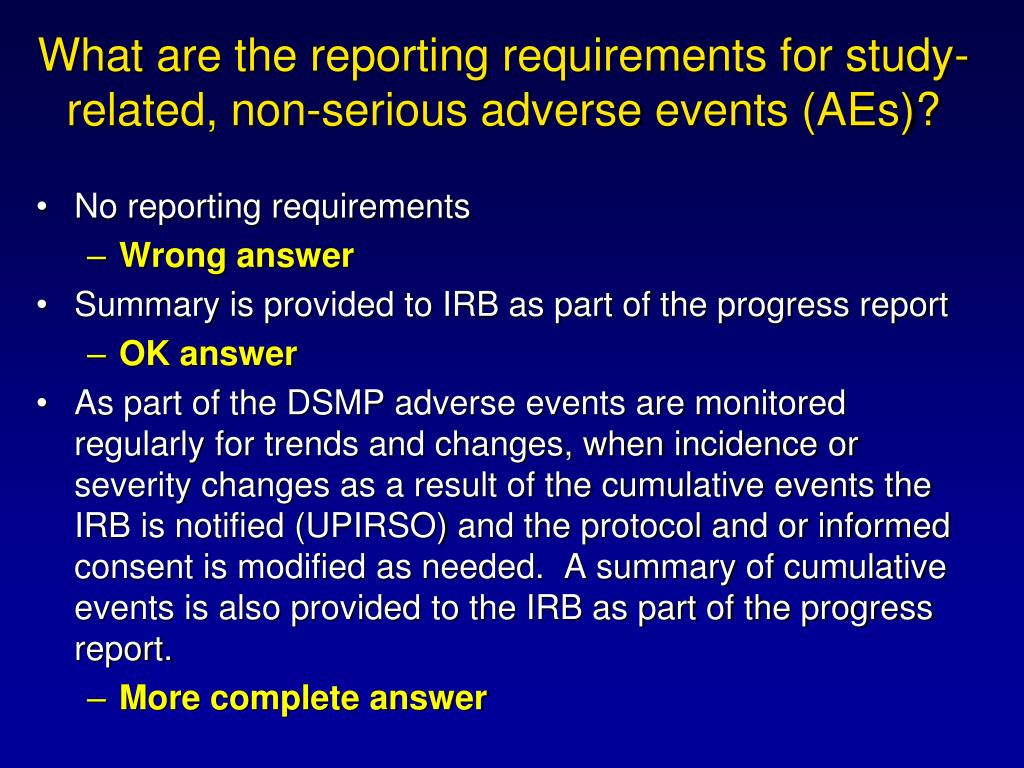 What are the reporting requirements for study-related, non-serious adverse events (AEs)?