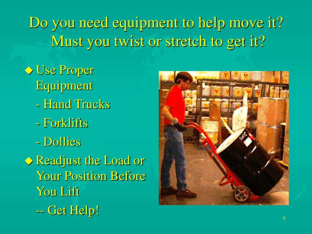 Do you need equipment to help move it?