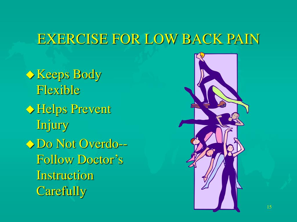 EXERCISE FOR LOW BACK PAIN