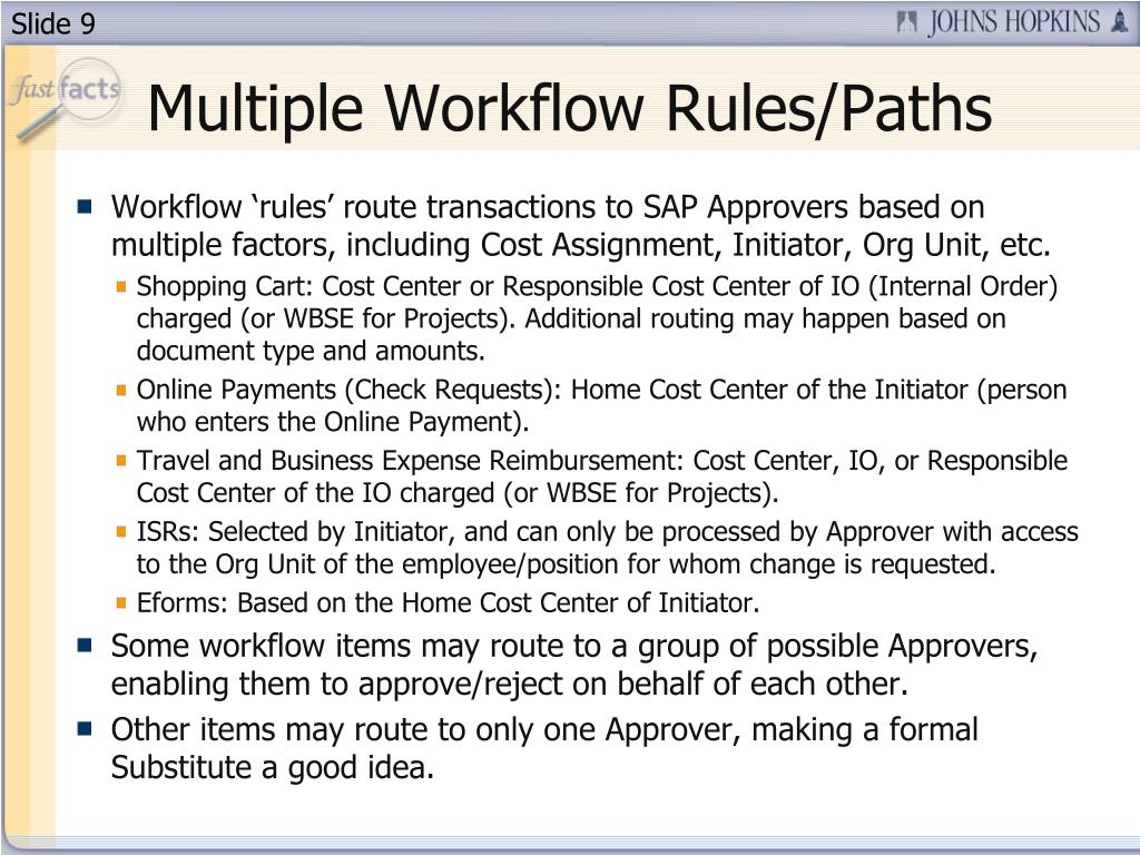 Multiple Workflow Rules/Paths