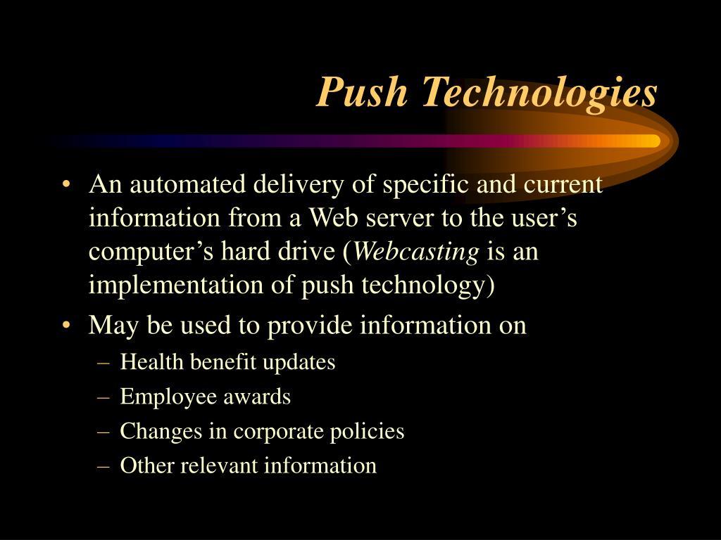 Push Technologies