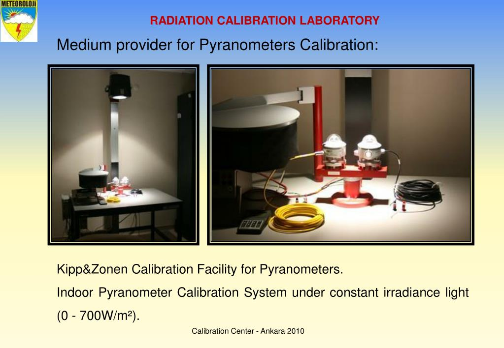 RADIATION CALIBRATION LABORATORY