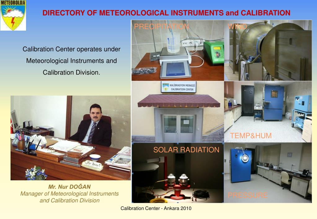 DIRECTORY OF METEOROLOGICAL INSTRUMENTS and CALIBRATION