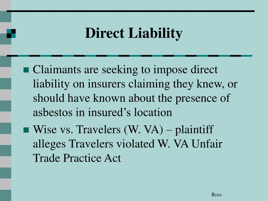 Direct Liability