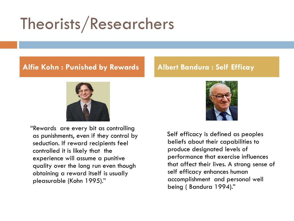 Theorists/Researchers