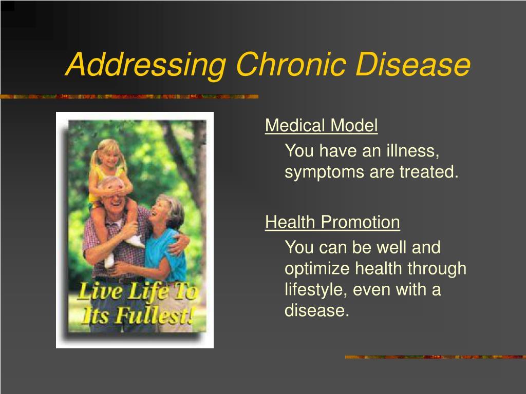 Addressing Chronic Disease