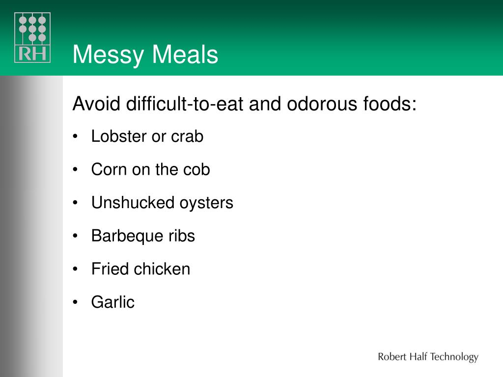 Messy Meals