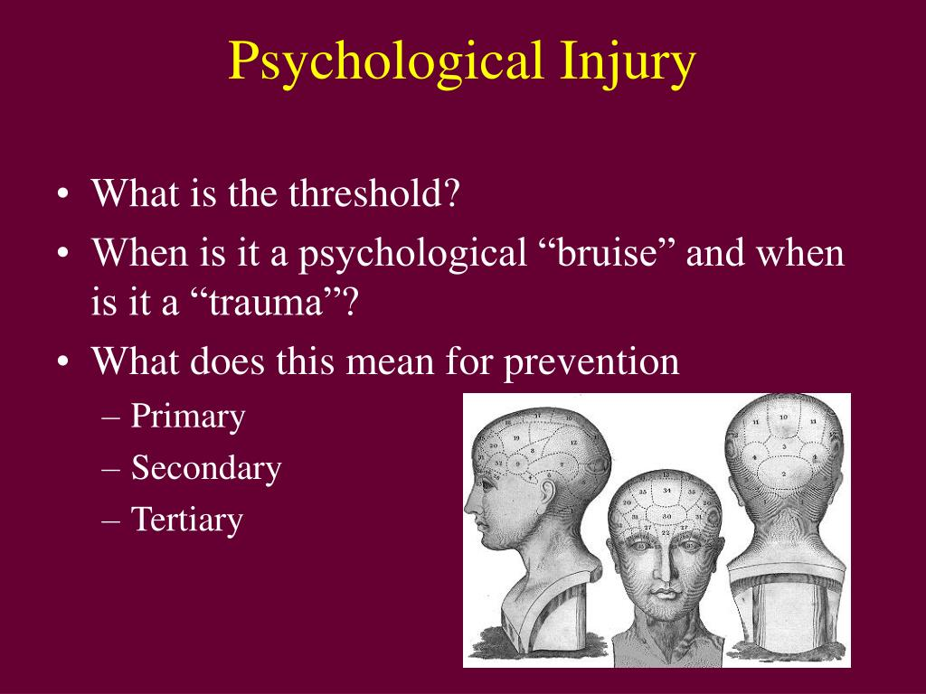 Psychological Injury