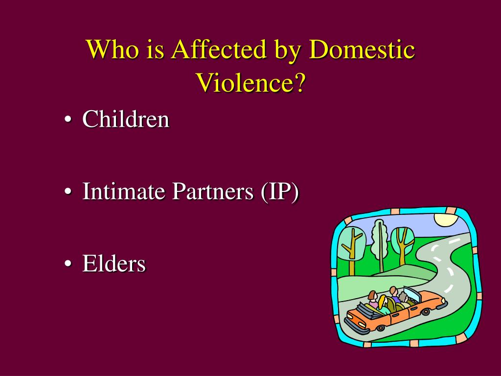 Who is Affected by Domestic Violence?