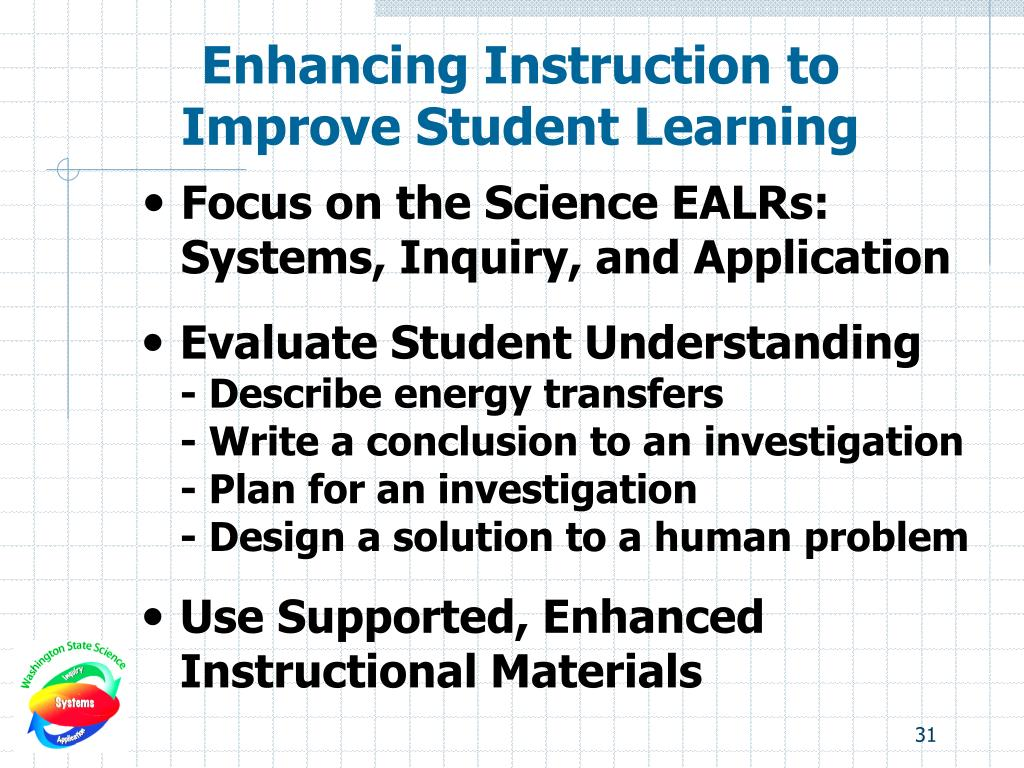 Enhancing Instruction to
