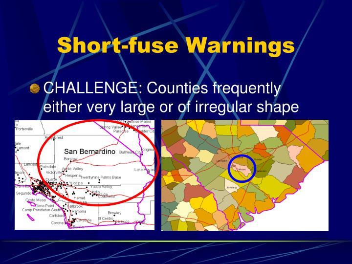 Short-fuse Warnings