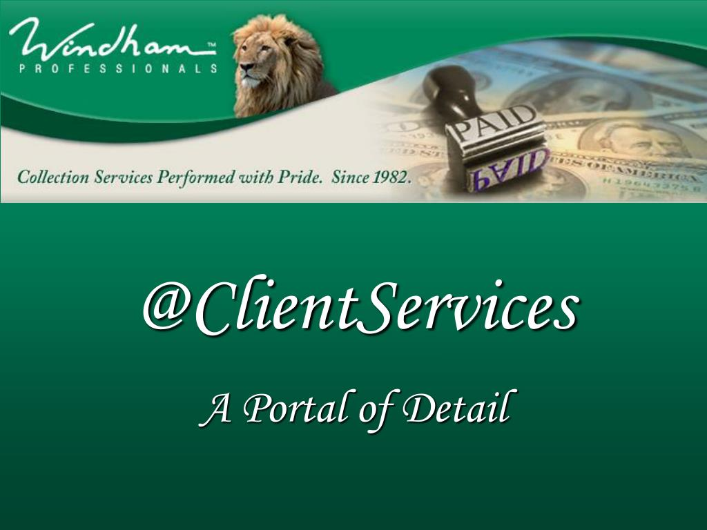 @ClientServices