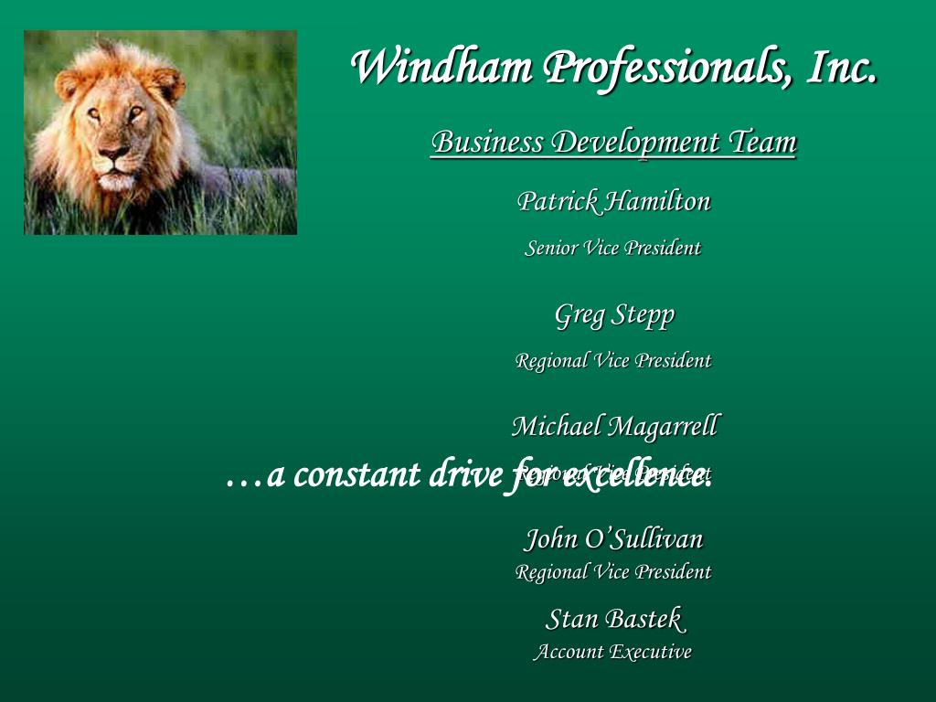 Windham Professionals, Inc.