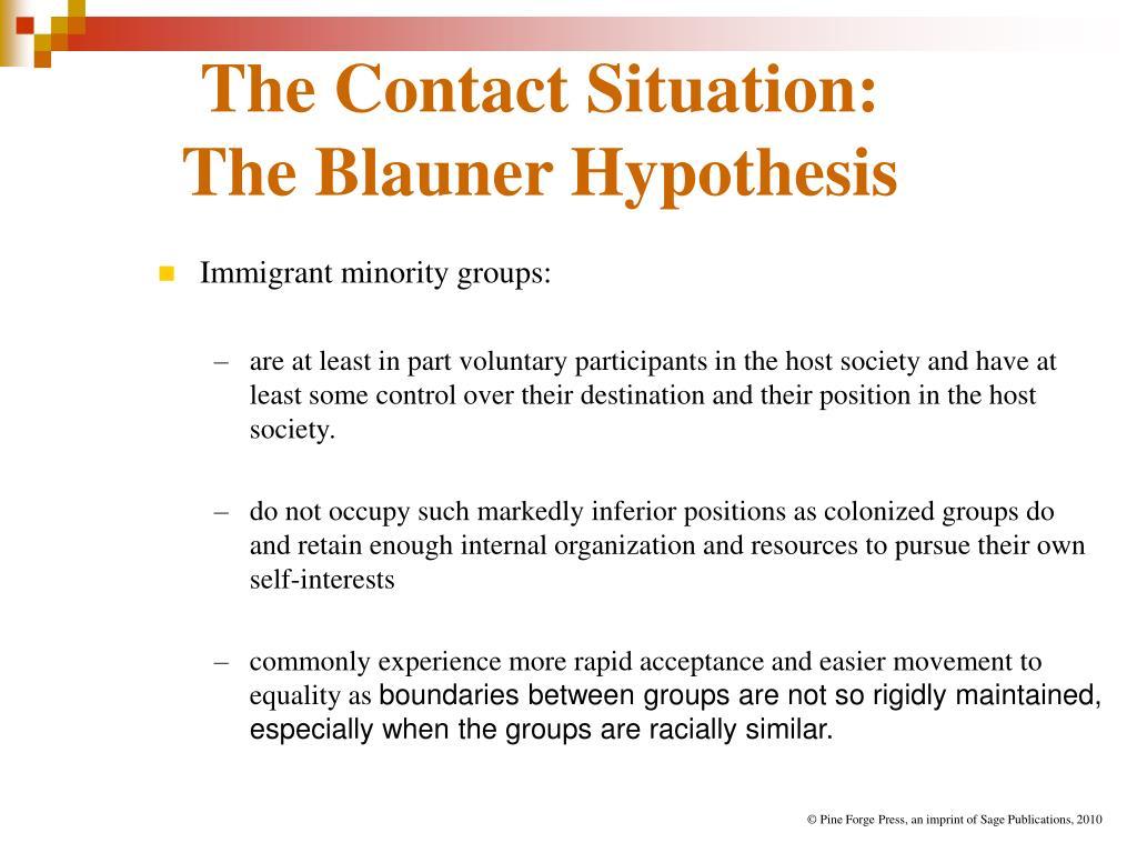 blauner hypothesis