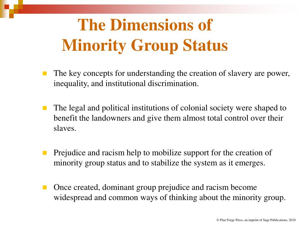 "the impact of prejudice upon the origins of slavery Background: forms of racism and slavery (treating human , this means that if the employment practices of a company have a ""disparate impact""—meaning."