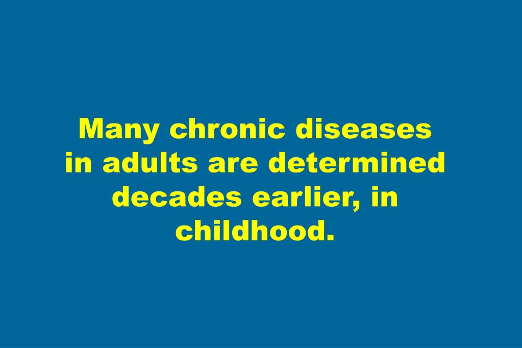 Many chronic diseases