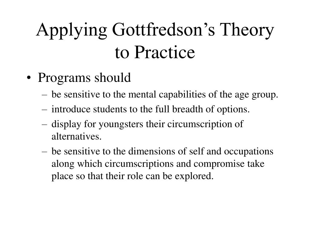 applying theory to practice theory offers A theory is a contemplative and rational type of abstract or generalizing thinking,  or the results  for aristotle, both practice and theory involve thinking, but the  aims are different  a formal theory is syntactic in nature and is only meaningful  when given a semantic component by applying it to some content (eg, facts and .