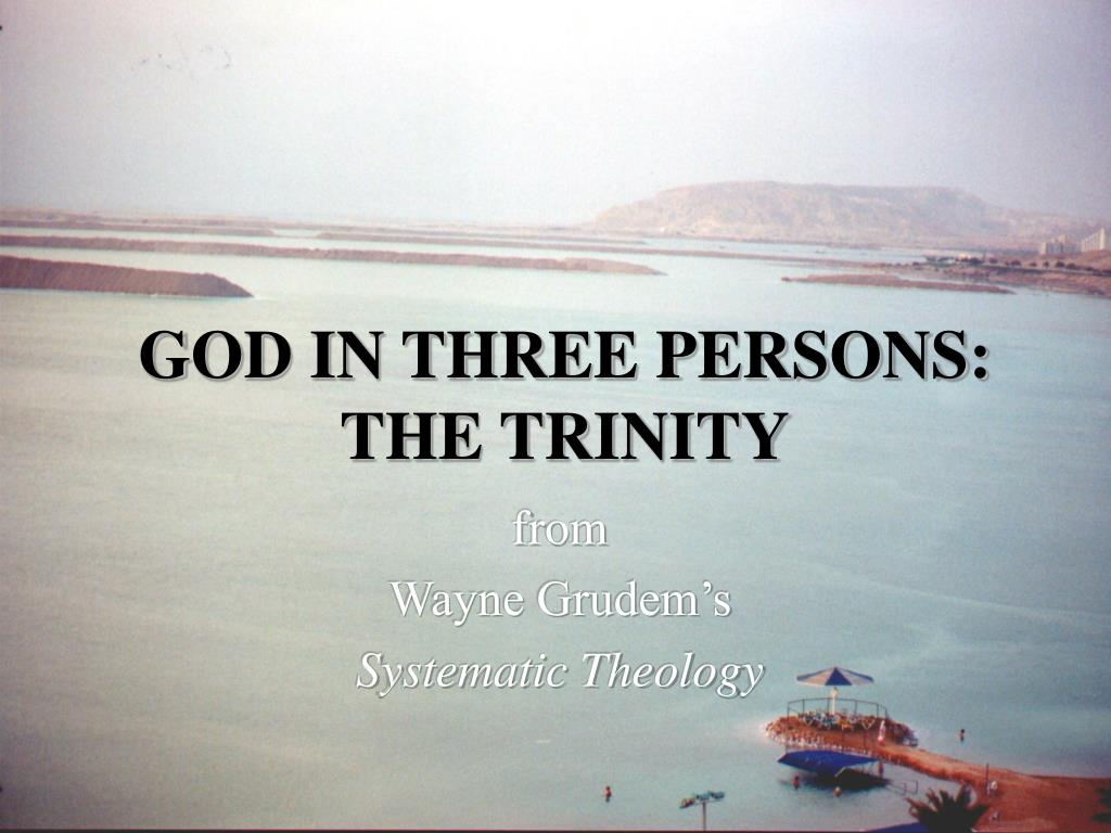 the three persons of the trinity 'how can there be three persons,  let sabellius hear 'we are,' let him hear 'three,' and let him believe that there are three persons (the trinity.