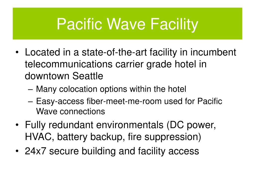 Pacific Wave Facility