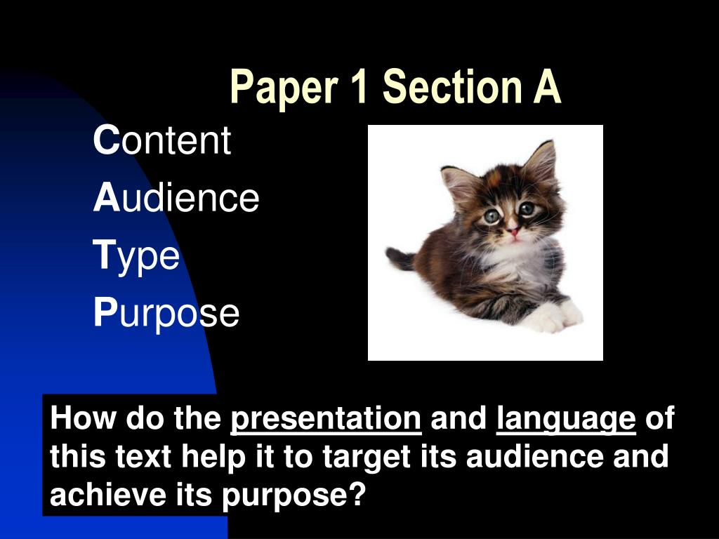Paper 1 Section A