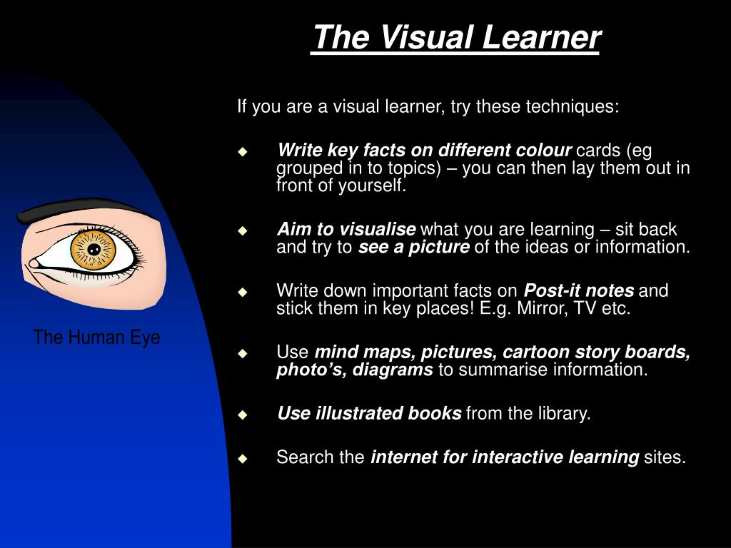 The Visual Learner