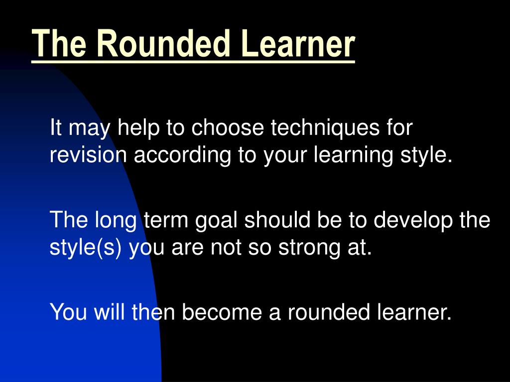 The Rounded Learner