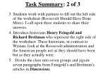 task summary 2 of 3
