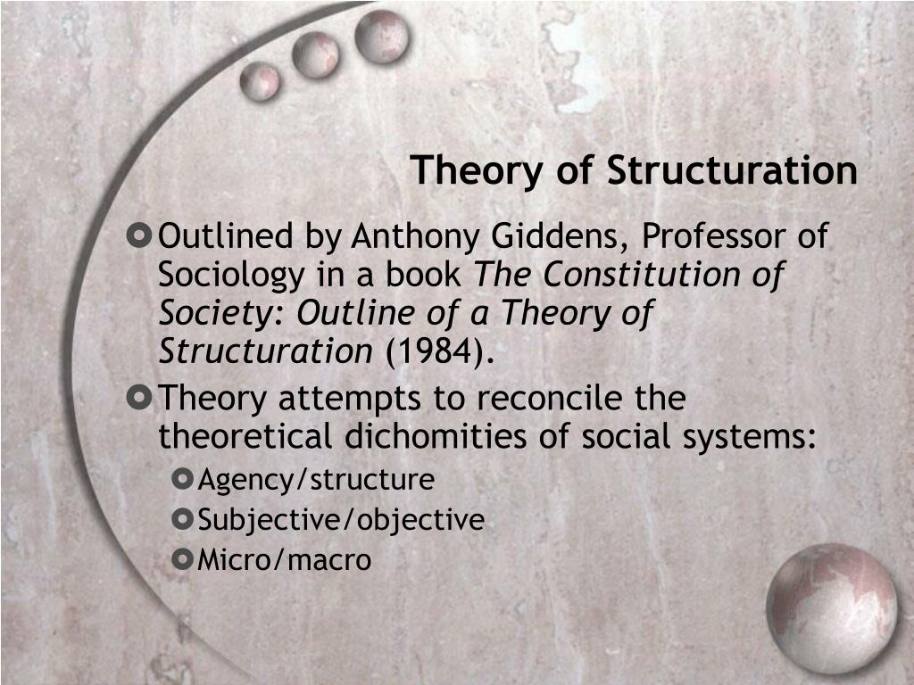 Theory of Structuration