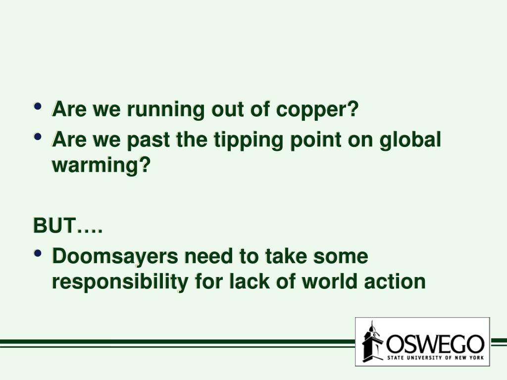 Are we running out of copper?