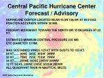 central pacific hurricane center forecast advisory1