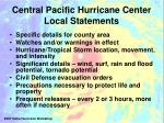 central pacific hurricane center local statements