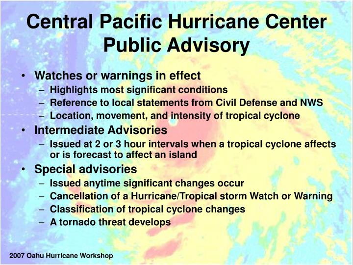 Central Pacific Hurricane Center