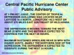 central pacific hurricane center public advisory1