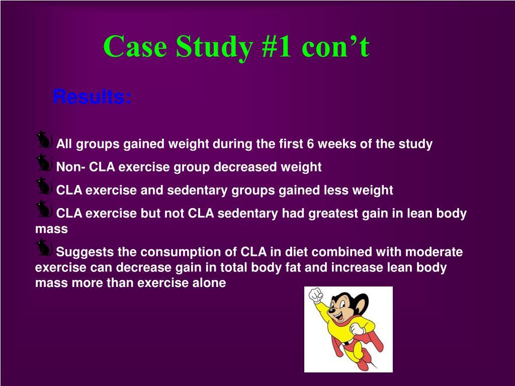 Case Study #1 con't