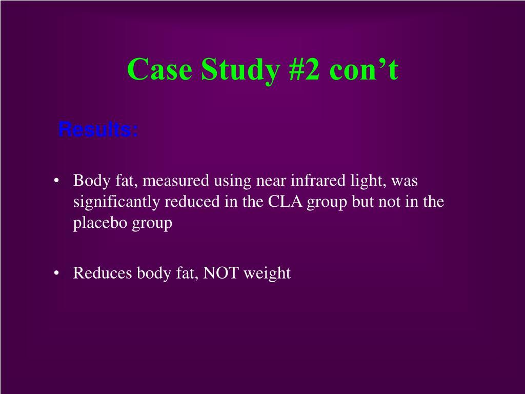 Case Study #2 con't