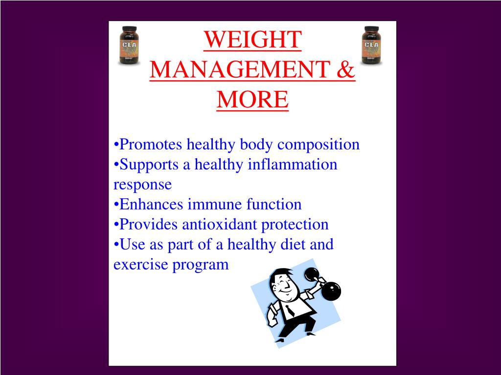 WEIGHT MANAGEMENT & MORE