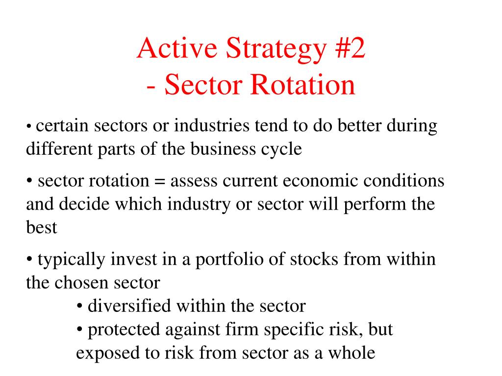 Active Strategy #2