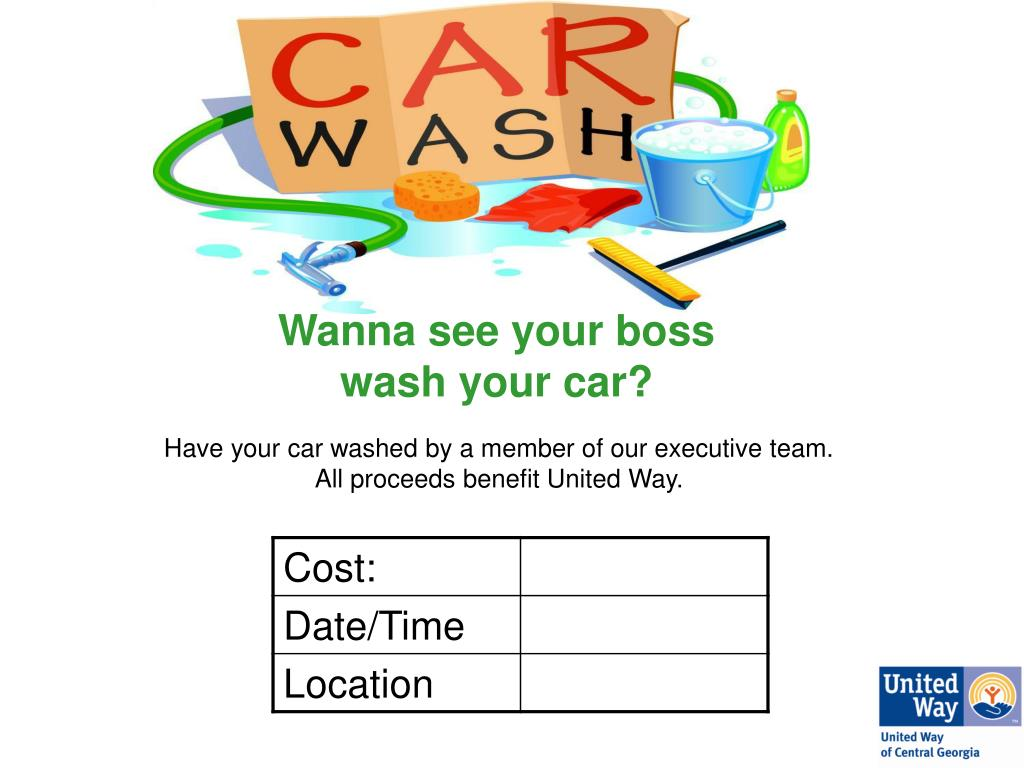 Wanna see your boss                  wash your car?