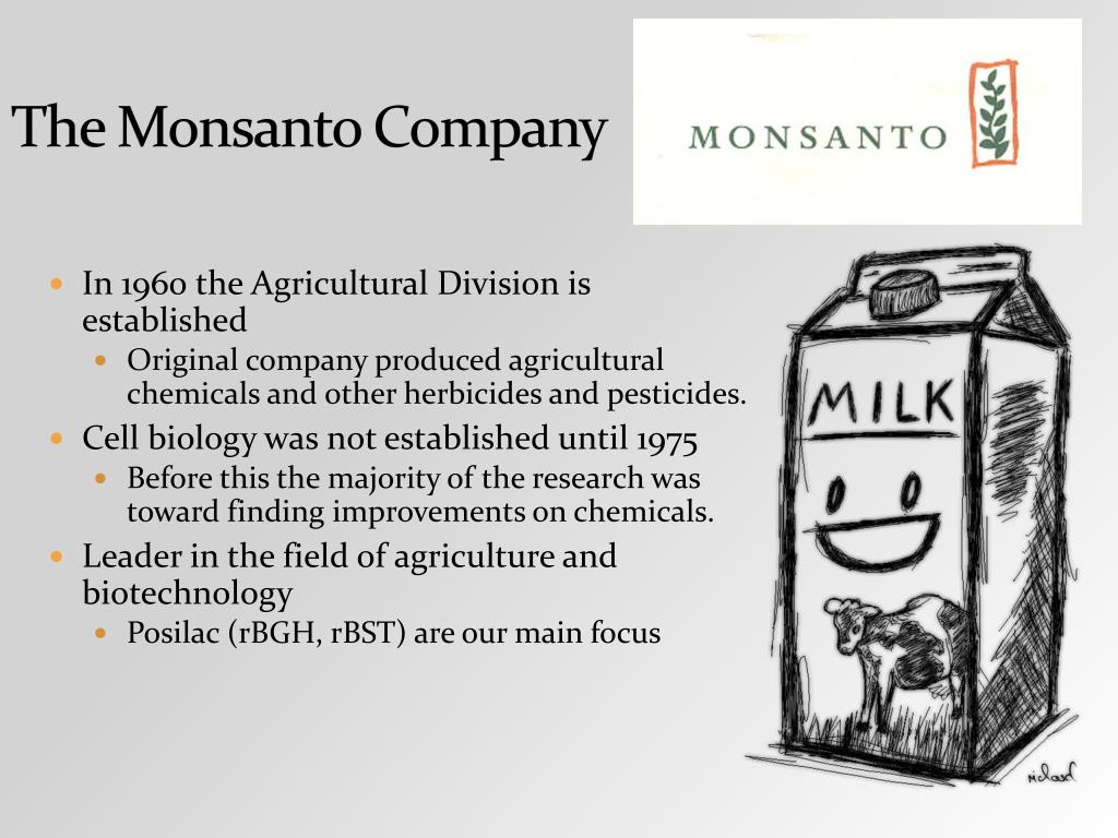 The Monsanto Company