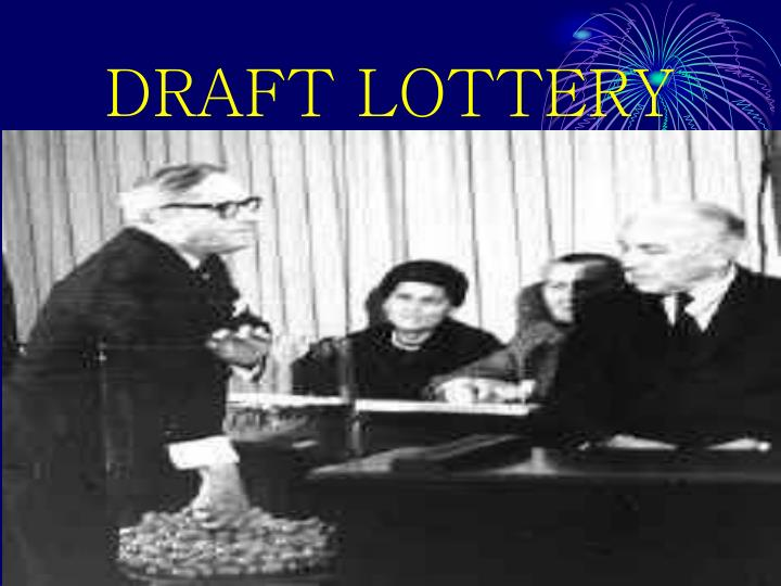 DRAFT LOTTERY