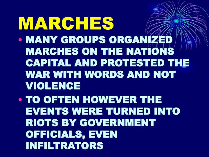 MARCHES