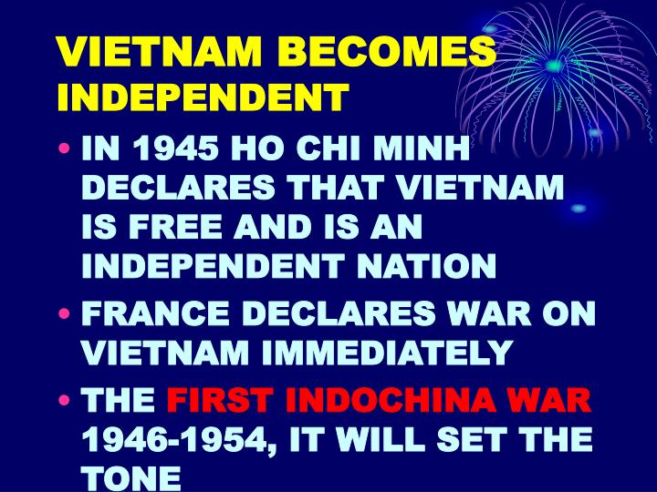 VIETNAM BECOMES