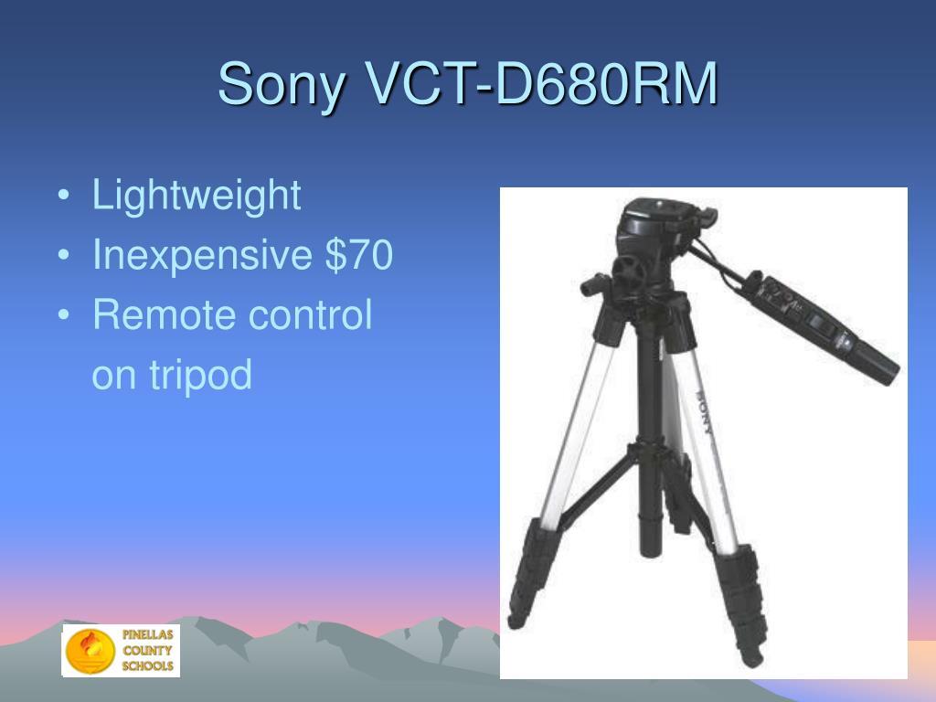 Sony VCT-D680RM