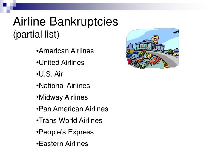 Airline Bankruptcies