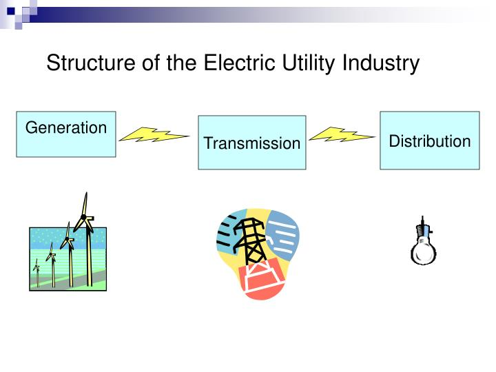 Structure of the Electric Utility Industry