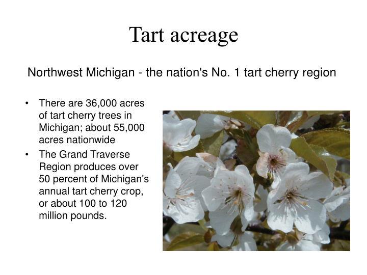 Tart acreage